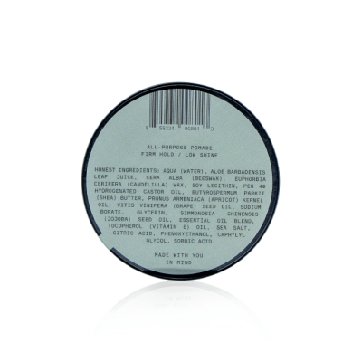 sap firsthand supply water based pomade 1